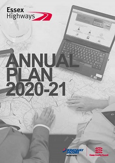 Cover of Highway Authority Annual Plan 2020-21