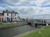 Heybridge Lock and the Ship Inn
