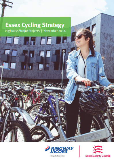 The Essex Cycling Strategy document in PDF