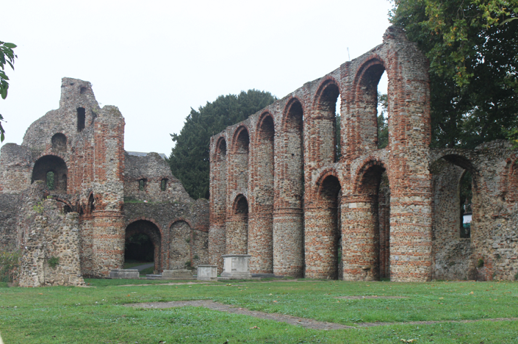 Image of the remains of St Botolphs Priory which is a short walk from the St Botolphs Circus Roundabout