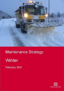 Cover of the Maintenance and Inspections Strategy, Winter - February 2021