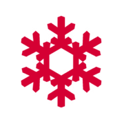 Snowflake image to represent Winter